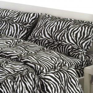 Parure Copripiumino 100% puro cotone mod. Zebra Zebrato